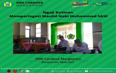 Ngaji Rutinan dan Memperingati Maulid Nabi Muhammad SAW.