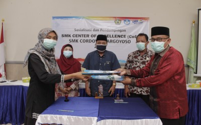 SOSIALISASI DAN PENDAMPINGAN CENTER OF EXCELLENCE (CoE) SMK CORDOVA MARGOYOSO